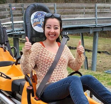 geeves on the alpine coaster