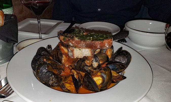 dinner at forcella boston
