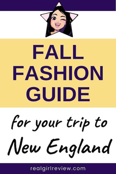 Pinterest Marketing Image | fall fashion guide for New England